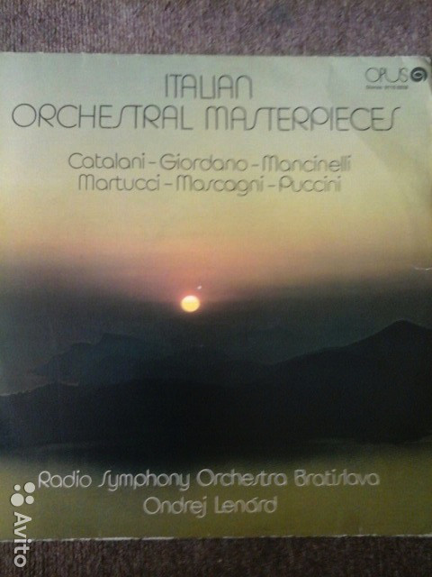 Italian Orchestral Masterpieces